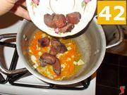 Iniziate a cuocere la carne