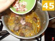 Continuate a cuocere la carne
