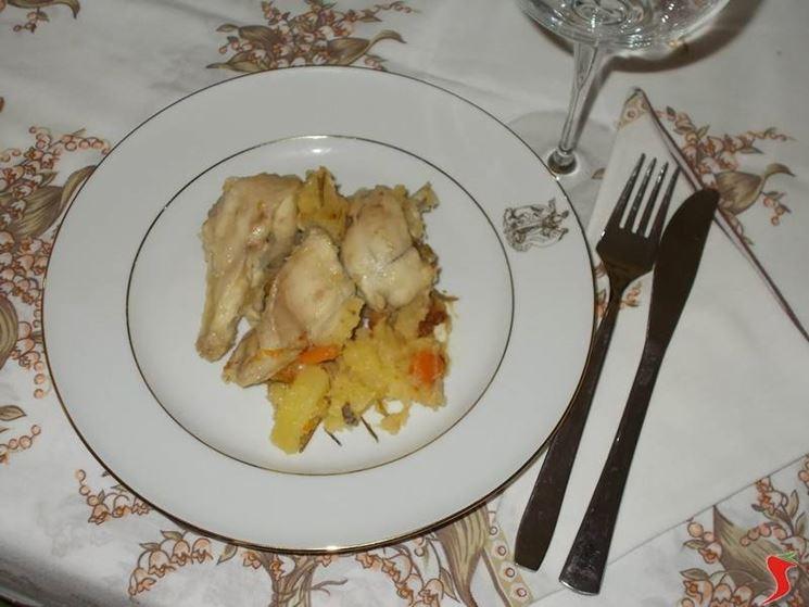 Il coniglio con le patate