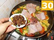 La cottura della carne