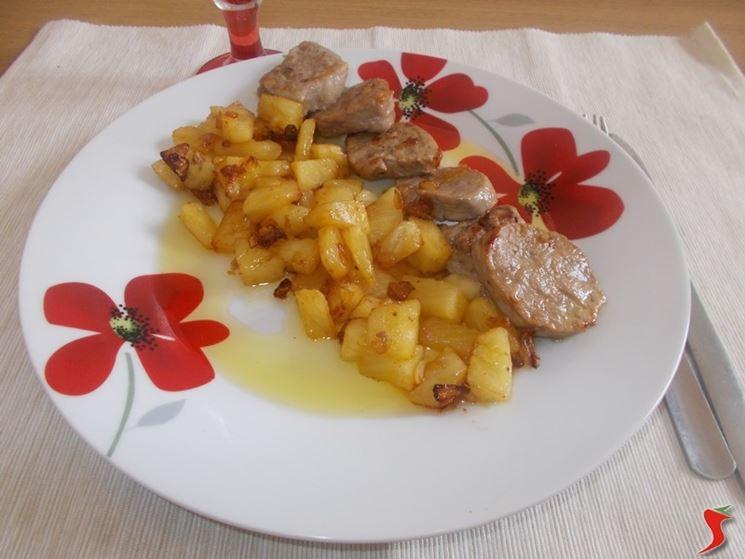 Maiale ananas