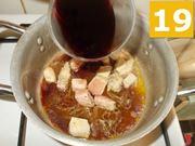 Terminare la cottura della carne