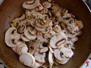 riporre i funghi sul fuoco senza condimento