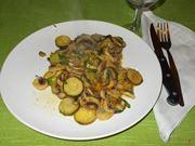 Le zucchine con i funghi