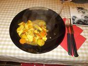 Il petto di pollo al curry