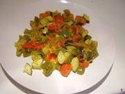 letto verdure
