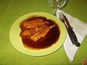Il petto di pollo piccante