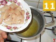 Rosolare il pollo