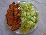 servire i petti di pollo a cotoletta