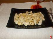 Straccetti di pollo ai funghi