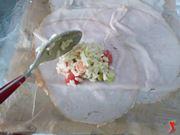 preparo gli involtini con il riso