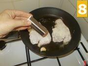 La cottura delle fettine
