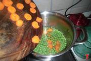 aggiungere le carote