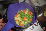tris di verdure