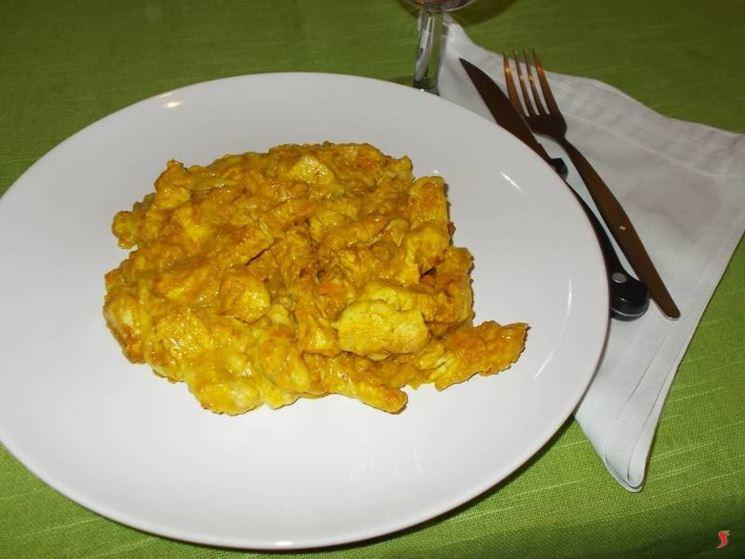 Il tacchino al curry