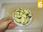 Lavorate le zucchine