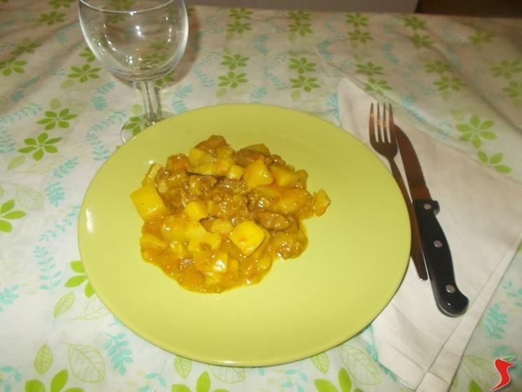 Lo spezzatino al curry