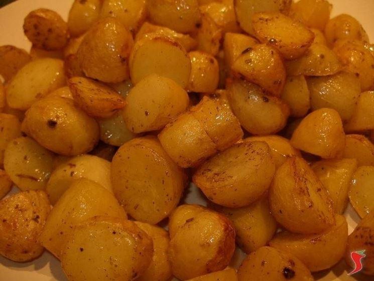 Spezzatino con patate al forno