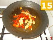 Terminare la cottura dei peperoni