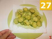 Terminate la cottura delle zucchine