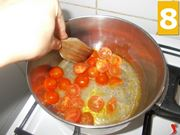 Continuate gli ingredienti