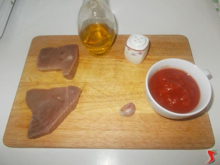 Tonno e pomodoro Ingredienti
