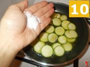 Cottura delle zucchine