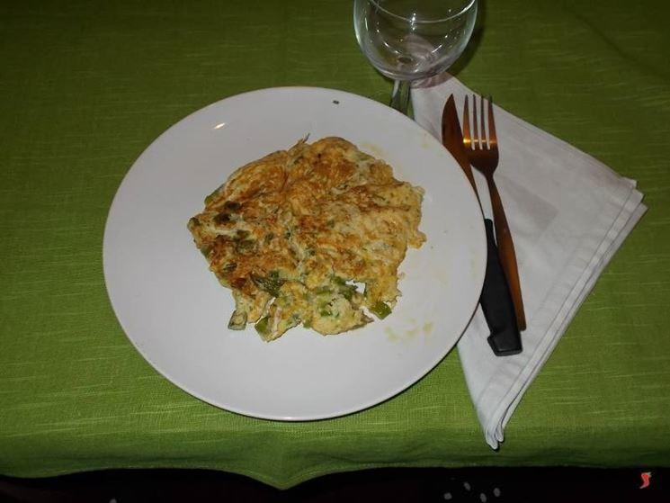 La frittata di asparagi