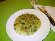 La frittata di spinaci