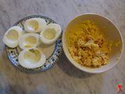 imbottire le uova