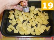 Continuate a preparare le patate