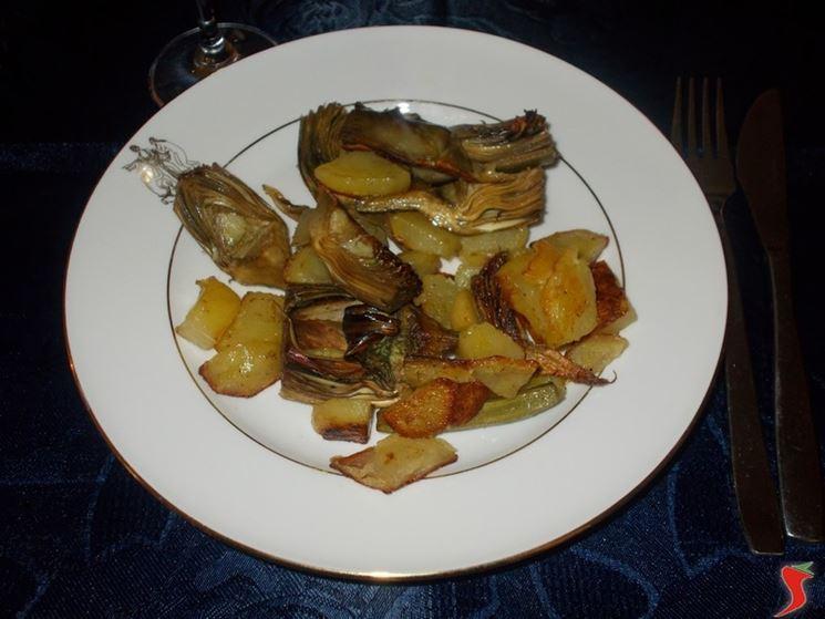 I carciofi con le patate