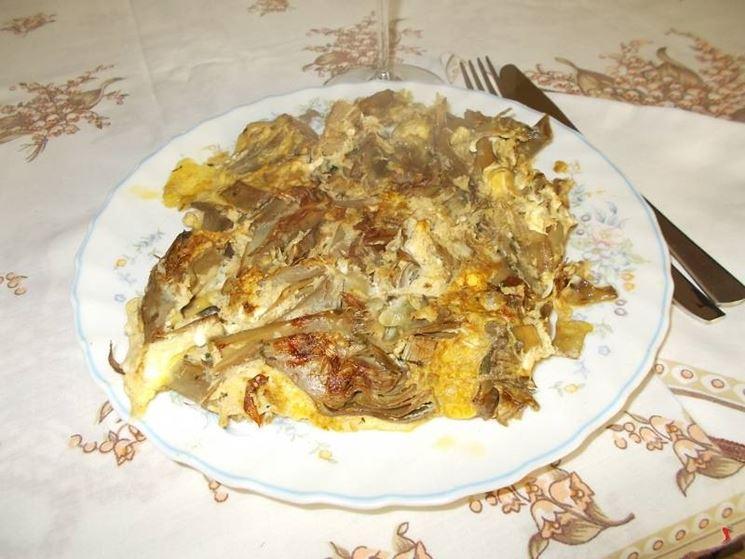 La frittata con i carciofi