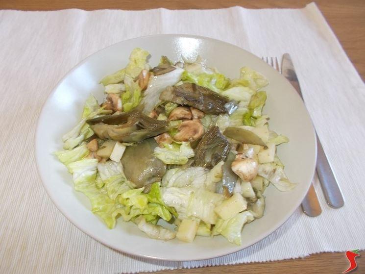 L'insalata di carciofi