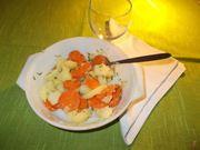 La carote con le patate