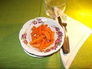Le carote in agrodolce
