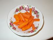 Tagliare le carote