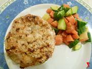 carote e zucchine come contorno