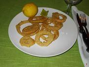 Le cipolle in pastella