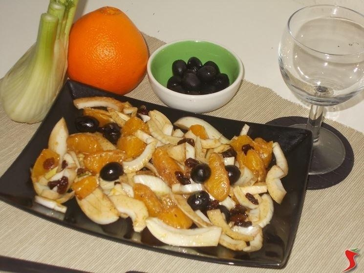 L'insalata di finocchi e arance