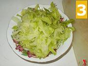 Le foglie d'insalata