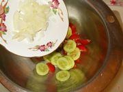 La preparazione dell'insalata