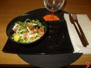 L'insalata di polpa di granchio