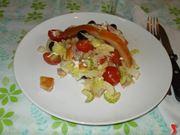 L'insalata al salmone affumicato