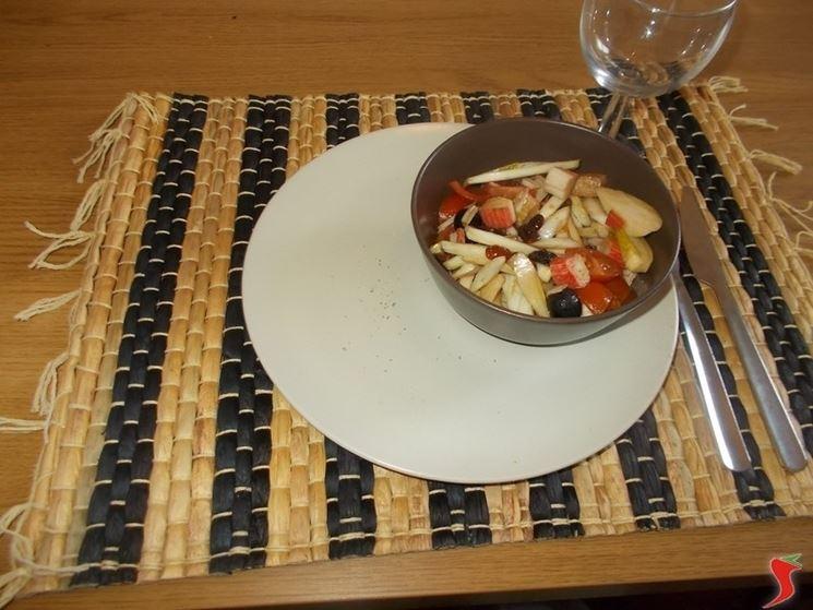 L'insalata di surimi