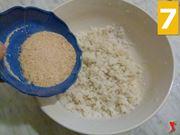 aggiungere pane grattugiato
