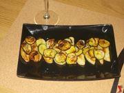 Le patate con le zucchine al forno