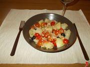 Le patate nell'insalata