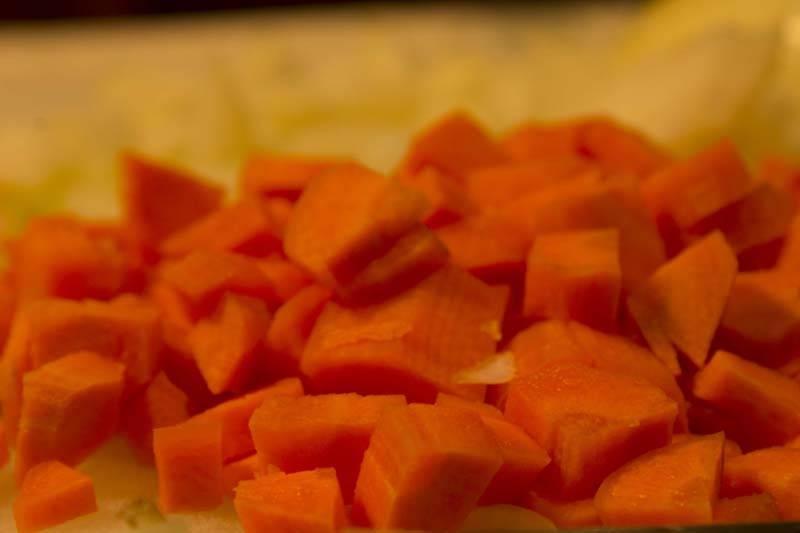 peperonata - peperoni ricette - peperonata con patate - Come Cucinare I Porri In Padella