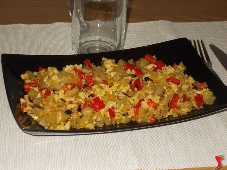 Le ricette con patate e peperoni